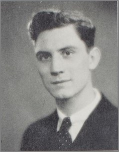 John Fields in 1934. U of Rochester Yearbook.