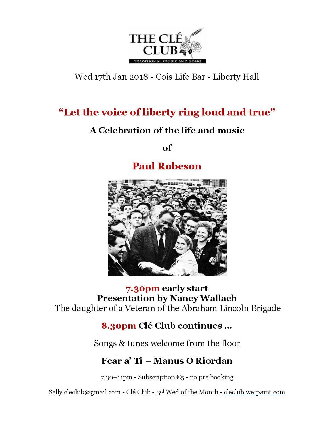 Ireland Robeson Poster
