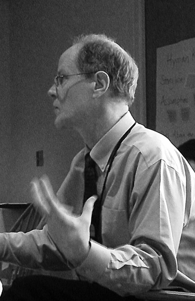 Rich Cairn at an ALBA workshop in 2014. Photo Sebastiaan Faber