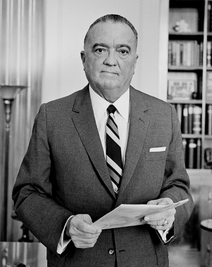 J. Edgar Hoover. US News and World Report Collection, Library of Congress. Public domain