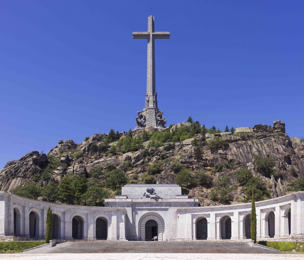 The Valley of the Fallen, 2012. Photo Jorge Díaz Bes, CC BY-SA 3.0