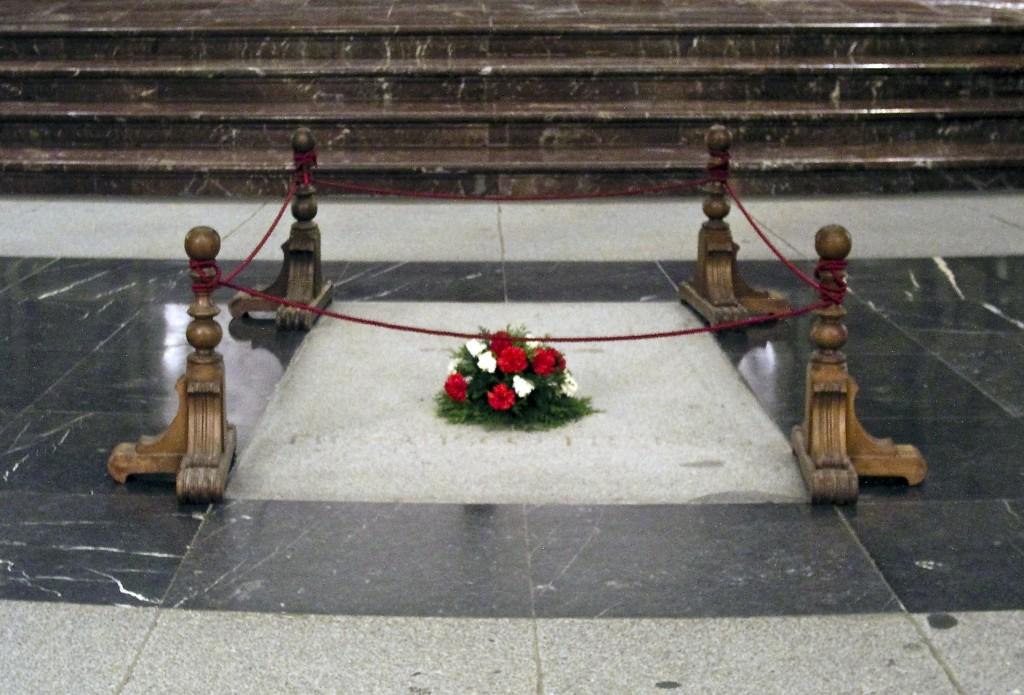Franco's tomb. Photo Xauxa Håkan Svensson, CC BY-SA 3.0