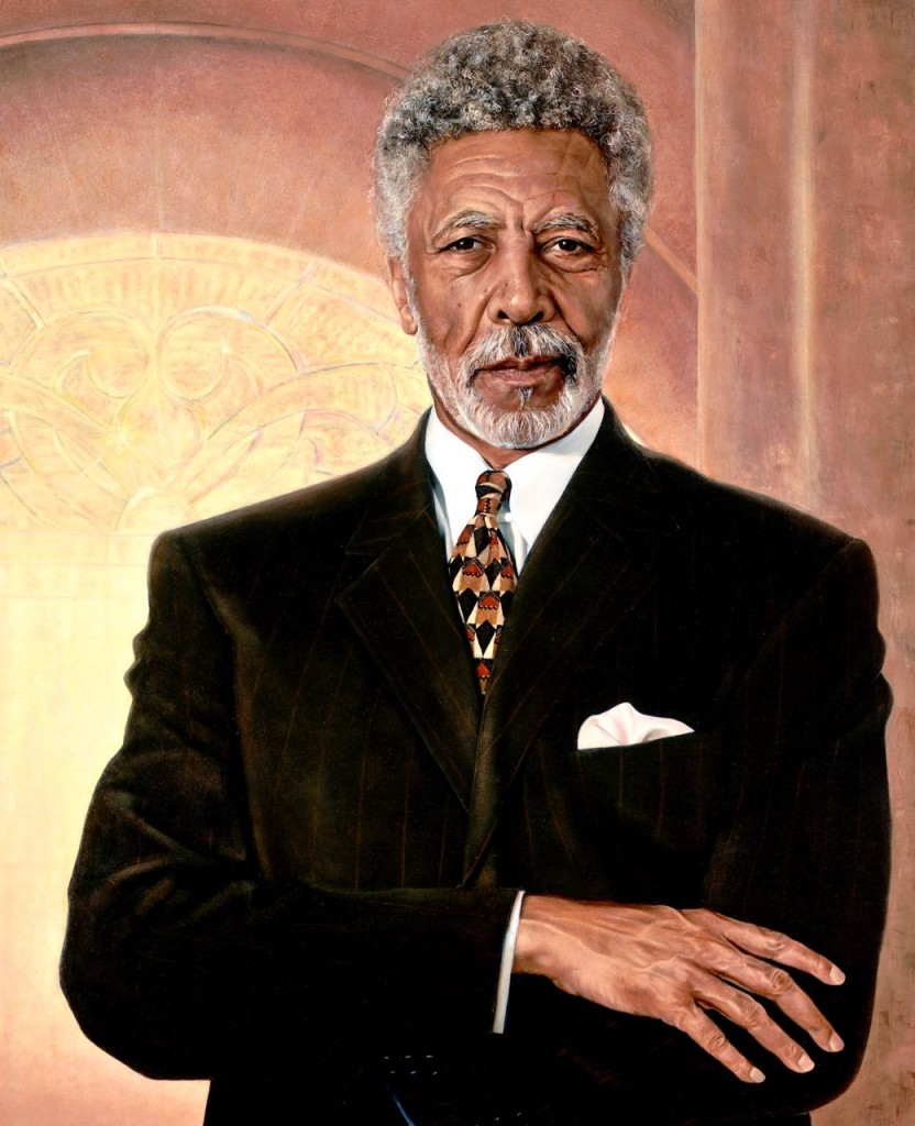 Portrait at Dellums (fragment), U.S. House of Representatives.