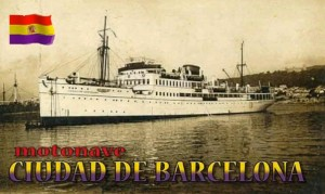 The City of Barcelona [Ciudad de Barcelona], photograph taken in Mallorca between 1931-1935, Wikipedia.