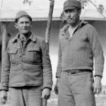 "Eugene Poling and James ""Doc"" Hill, both from Oklahoma and received citations, November 1937. The 15th International Brigade Photographic Unit Photograph Collection; ALBA Photo 11; ALBA Photo number 11-0984. Tamiment Library/Robert F. Wagner Labor Archives. Elmer Holmes Bobst Library, 70 Washington Square South, New York, NY 10012, New York University Libraries."