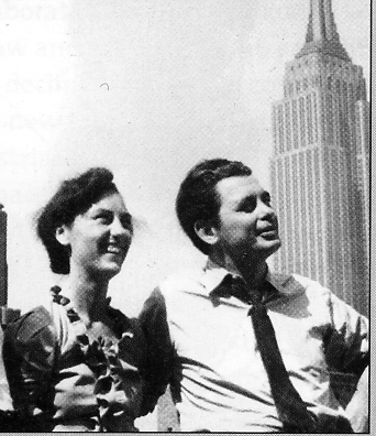 Ivens and Van Dongen in New York. Photo Ivens Foundation.