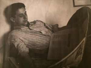 George Redlich post-Spain, Photograph from Shawn Walker.