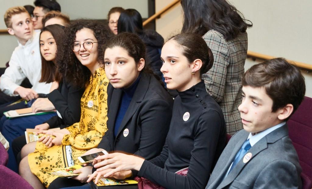 New York City high school students