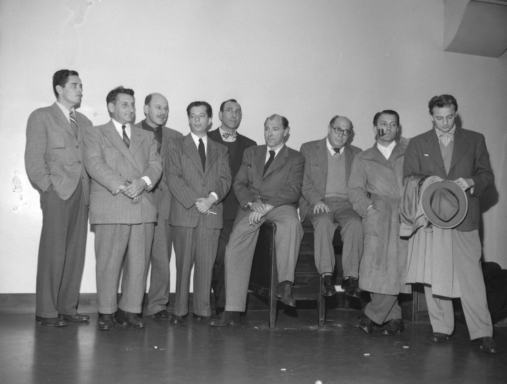 Nine_of_the_Hollywood_10_charged_with_contempt_of_Congress_1947_compr