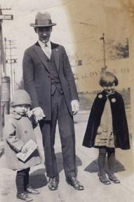 Lloyd Edward Johnson,  circa 1928-1930, Family photograph.