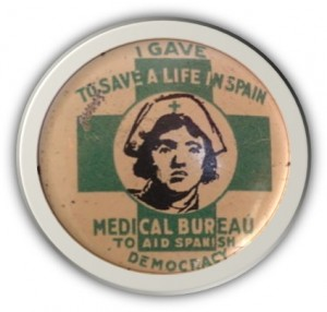 American Medical Bureau Button