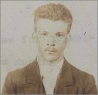 John Ramatowski, Passport Photograph, 1937.
